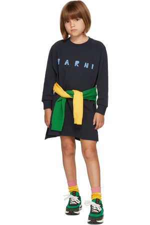 Marni T-shirts - Kids Navy T-Shirt Dress