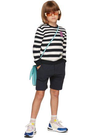 Marni Shorts - Kids Navy Drawstring Shorts