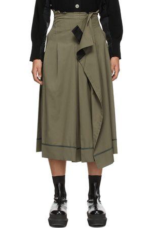 SACAI Poplin Suiting Skirt