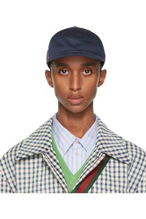 Gucci Navy ' Eschatology' Baseball Cap