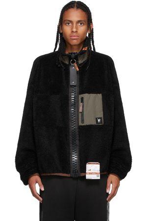 MIHARAYASUHIRO Boa Fleece Zip-Up Jacket