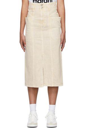 Isabel Marant Beige Toria Skirt