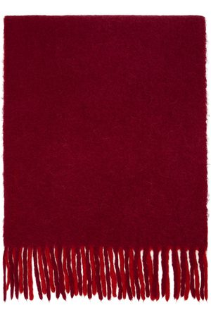 Isabel Marant Women Scarves - Pink & Red Firna Scarf