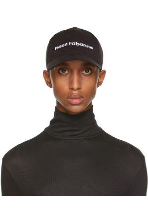 Paco Rabanne Men Caps - Black Logo Cap