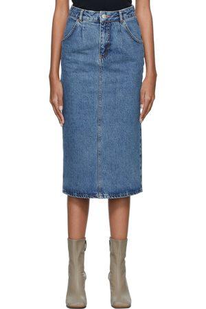 Won Hundred Women Denim Skirts - Blue Denim Faye Skirt