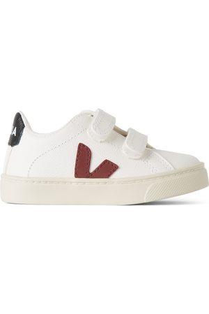 Veja Sneakers - Baby White & Red Esplar Sneakers