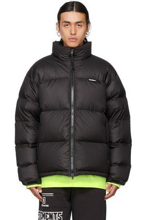 VETEMENTS Men Puffer Jackets - Logo Puffer Jacket
