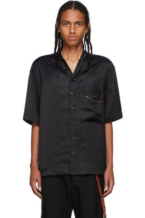 SONG FOR THE MUTE Cupro Box Short Sleeve Shirt