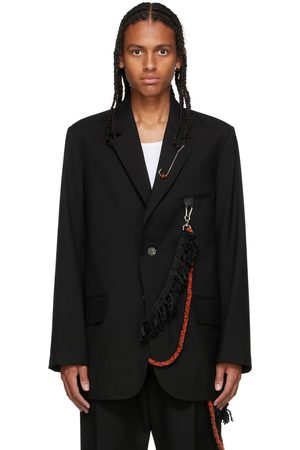 SONG FOR THE MUTE Wool Oversized Blazer
