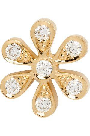 SOPHIE BILLE BRAHE Gold Diamond Fiore Single Earring