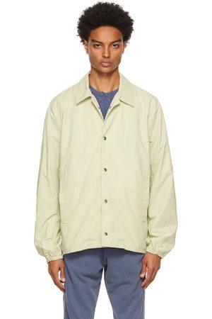 John Elliott Off-White Nylon Coach's Jacket