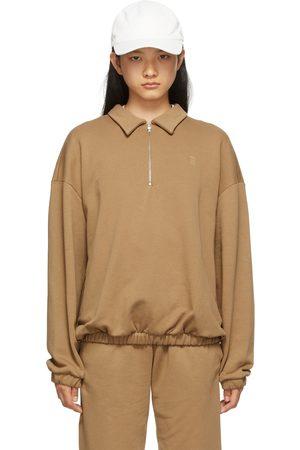 Totême Tan Monogram Tracksuit Sweatshirt