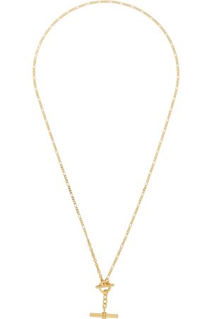 Bottega Veneta Gold Chain Toggle Necklace