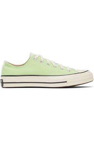 Converse Blue & Green Colorblock Chuck 70 OX Sneakers