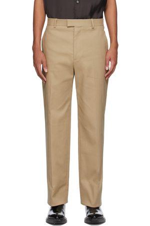 Bottega Veneta Beige Gabardine Trousers
