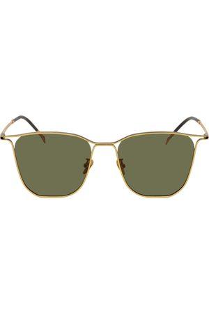 Projekt Produkt Women Square - Gold Metal Square Sunglasses