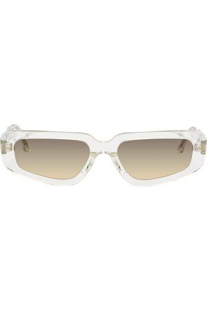 Projekt Produkt Transparent Acetate Small Cat-Eye Sunglasses