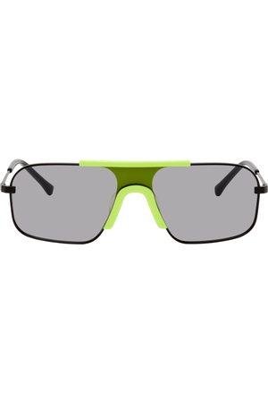 Projekt Produkt Black Titanium Shield Sunglasses