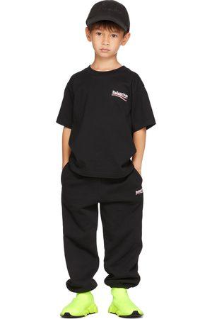 Balenciaga Kids Black Campaign T-Shirt