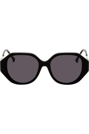 PROJEKT PRODUKT Black Acetate Square Sunglasses