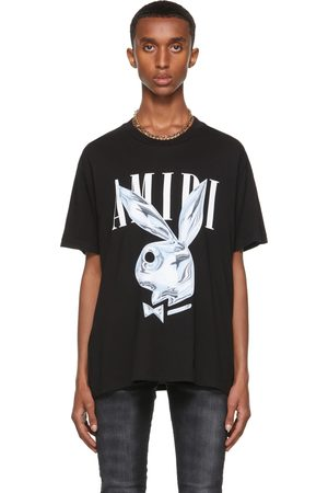 AMIRI Black Playboy Edition Metallic Bunny T-Shirt