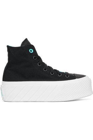 Converse Black Chuck Taylor All Star Lift Ripple High Sneakers