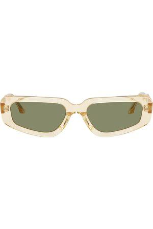 Projekt Produkt Women Sunglasses - Yellow Acetate Small Cat-Eye Sunglasses