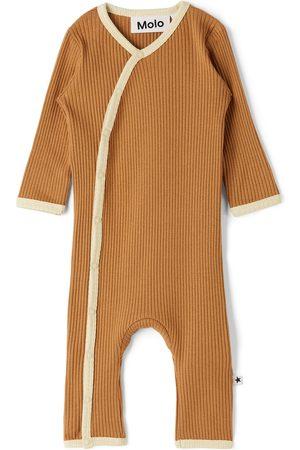 Molo Baby Brown Fellow Bodysuit