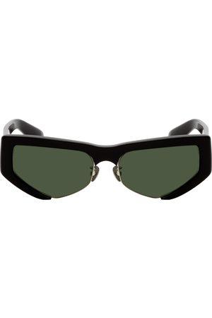 PROJEKT PRODUKT Black Acetate Cat-Eye Sunglasses