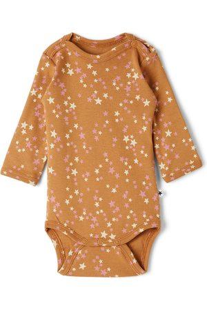 Molo Baby Brown Starry Foss Bodysuit