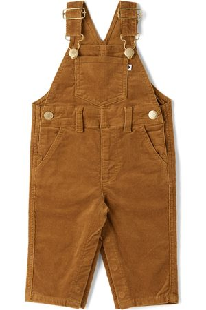 Molo Dungarees - Baby Brown Spark Overalls