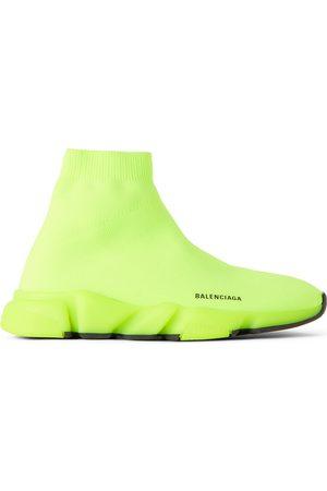Balenciaga Kids Green Speed Sneakers