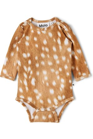 Molo Baby Brown Fawn Foss Bodysuit