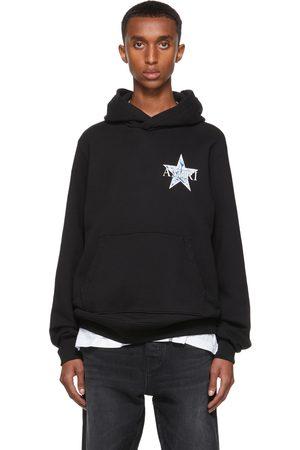 AMIRI Black Paisley Star Hoodie