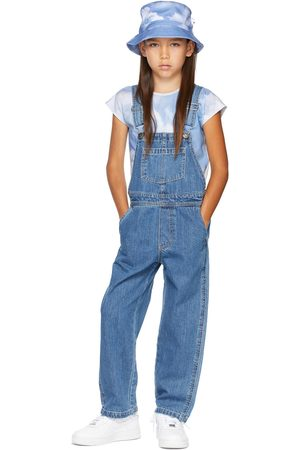 Molo Kids Blue Denim Aer Overalls