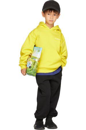 Balenciaga Kids Kids Yellow Classic Hoodie