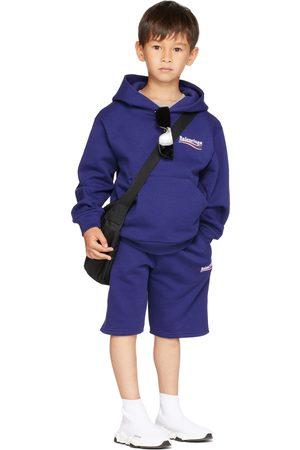 Balenciaga Kids Kids Navy Campaign Shorts