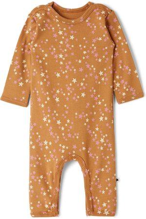 Molo Baby Brown Starry Fenez Bodysuit