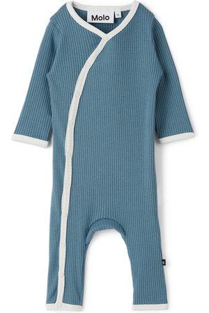 Molo Baby Blue Fellow Bodysuit