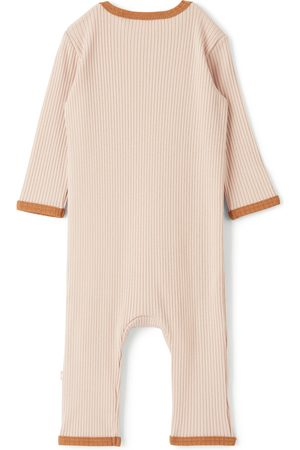 Molo Baby Pink Fellow Bodysuit