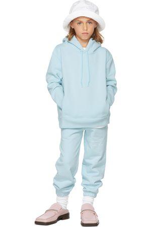 Martine Rose SSENSE Exclusive Kids Blue Classic Hoodie