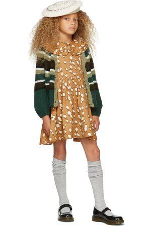 Molo Kids Brown Printed Coco Dress