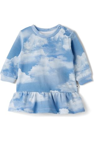 Molo Baby Blue & White Calypso Dress