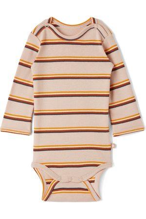 Molo Baby Pink Striped Foss Bodysuit
