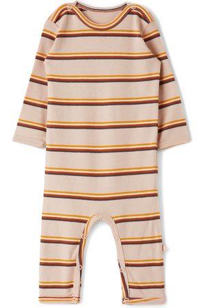 Molo Baby Pink Striped Fenez Bodysuit
