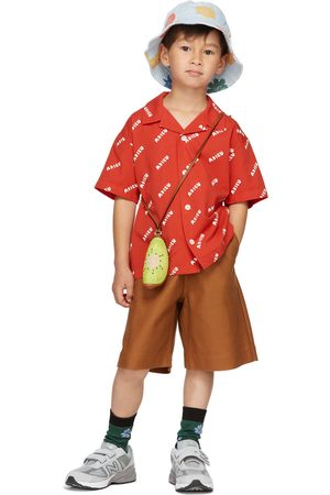 Jellymallow Kids & White 'Adieu' Short Sleeve Shirt