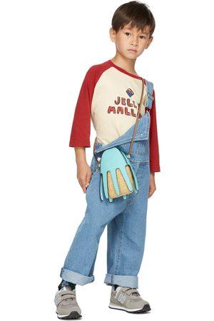 Jellymallow Kids & Pink Logo Raglan Long Sleeve T-Shirt