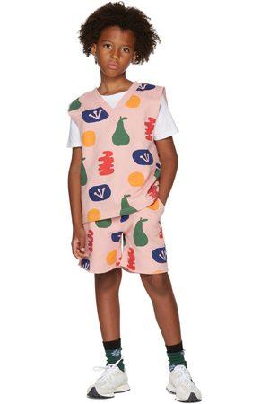 Jellymallow Kids Painting V-Neck Vest