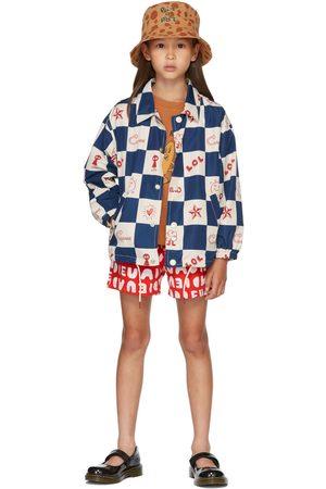Jellymallow Kids & White 'Adieu' Shorts