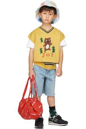 Jellymallow Kids Knit Bear Vest